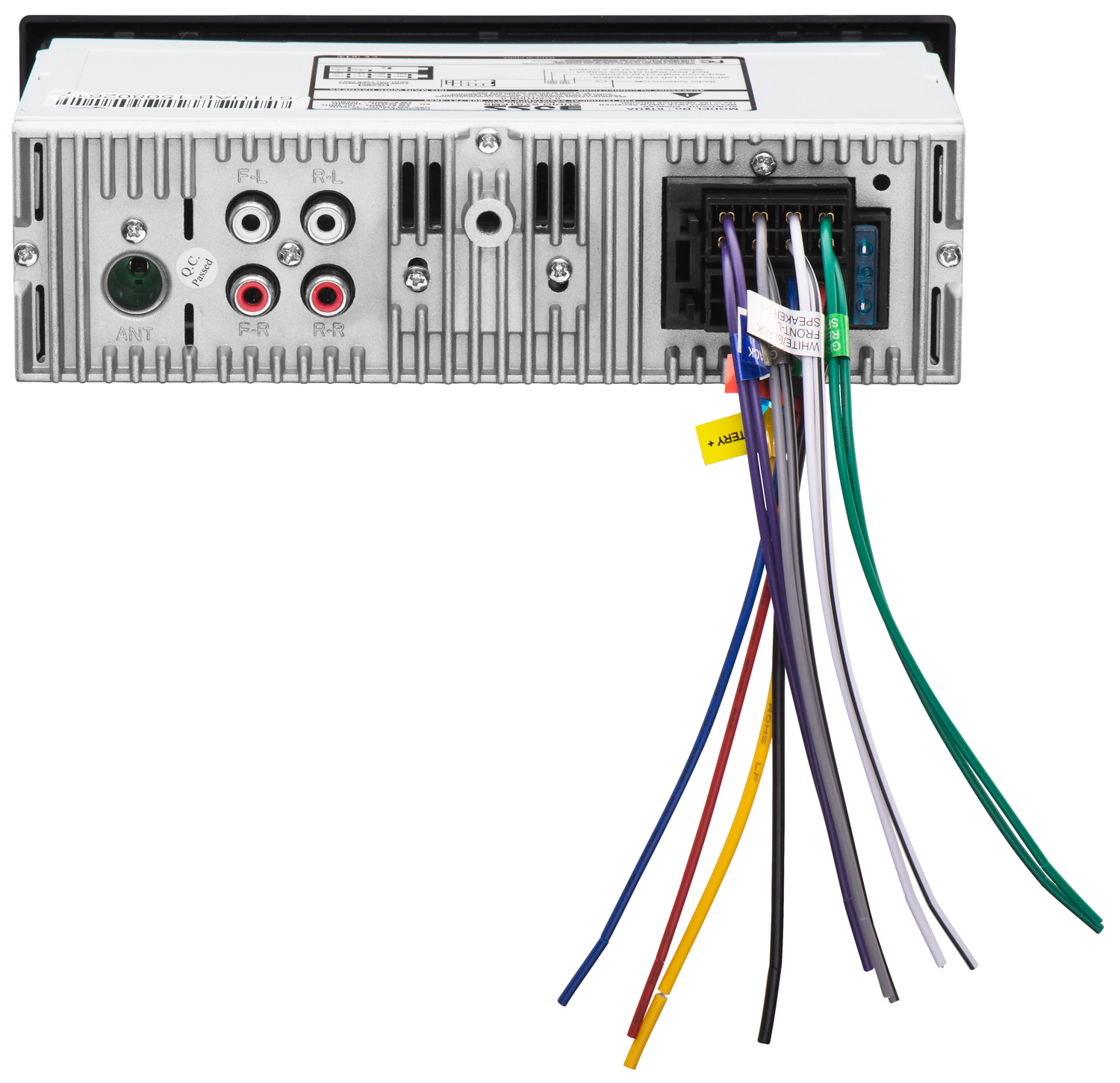 [CSDW_4250]   612UA | BOSS Audio Systems, a Leading Audio & Video Brand | Boss Audio Wiring Diagram Radio |  | Boss Audio