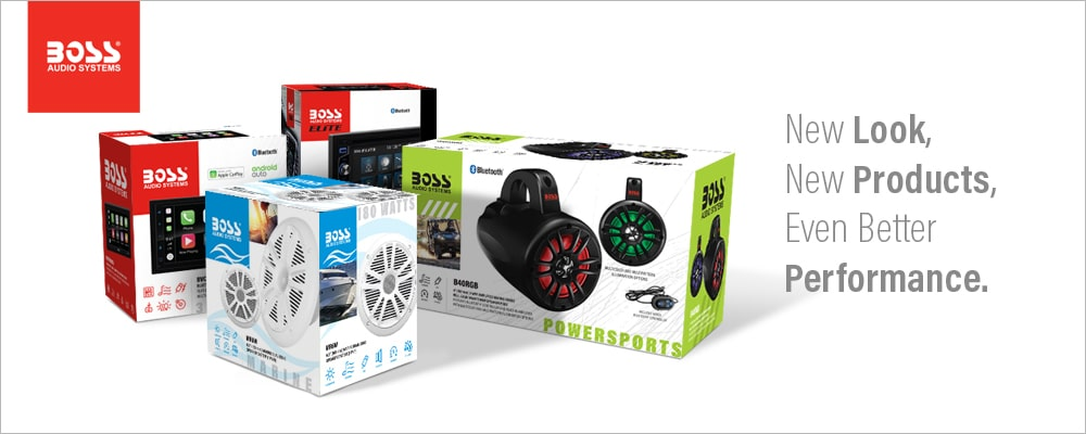 BOSS Audio Systems Ups its Game with New Branding Initiatives.